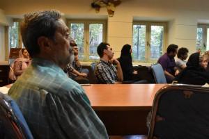 شرکت کنندگان در نشست پلاسما اخترفیزیک