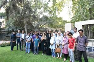 عکس دسته جمعی شرکت کنندگان