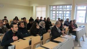 ارائه فرزین حسینی در دانشگاه گرمیان کردستان عراق