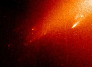 تکه تکه شدن دنباله دار لینیر، درحالیکه در آن نواحی گرمای خورشید برای تصعید این دنباله دار کافی نبود.